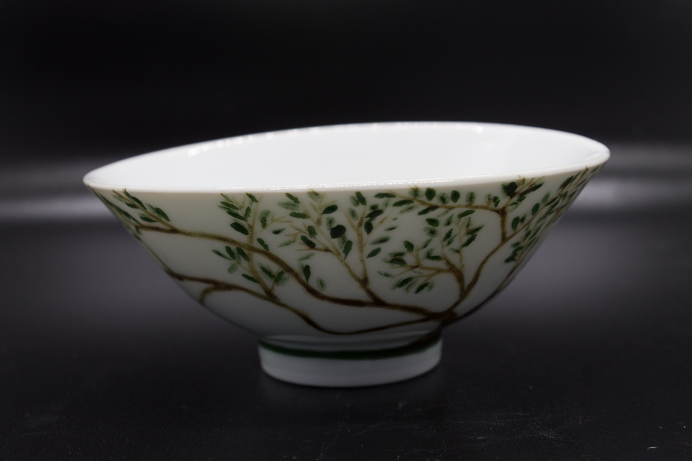 Bowl with tree branches - 1 - image 1