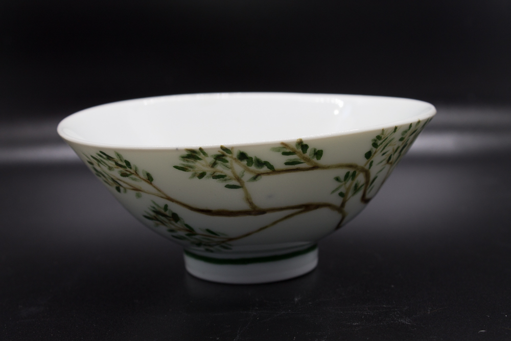 Bowl with tree branches - 2 - image 2